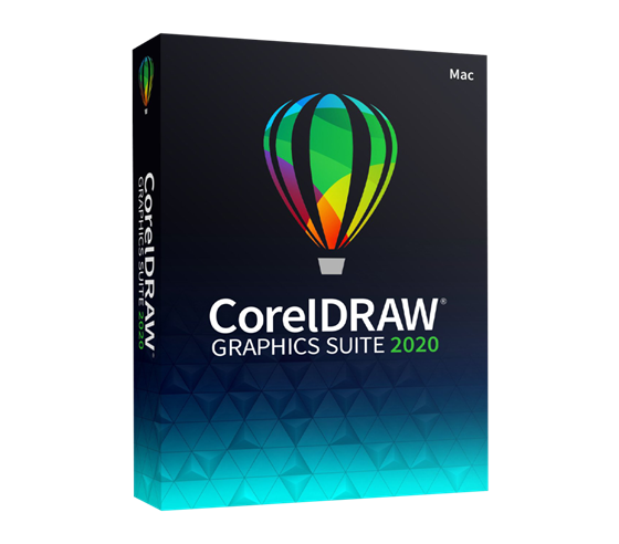 CorelDRAW Graphics Suite 2020 Mac CZ Box